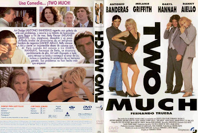 Cover, dvd, caratula: Two Much | 1995