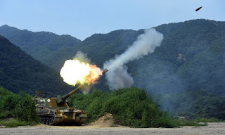 Howitzer Swa-gerak 155mm buatan Korea Selatan