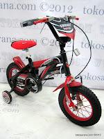3 Sepeda Anak Erminio 1277 Super Sport 12 Inci