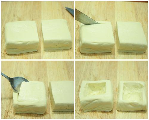 Cách làm đậu nhồi thịt, đơn giản mà ngon không cưỡng nổi