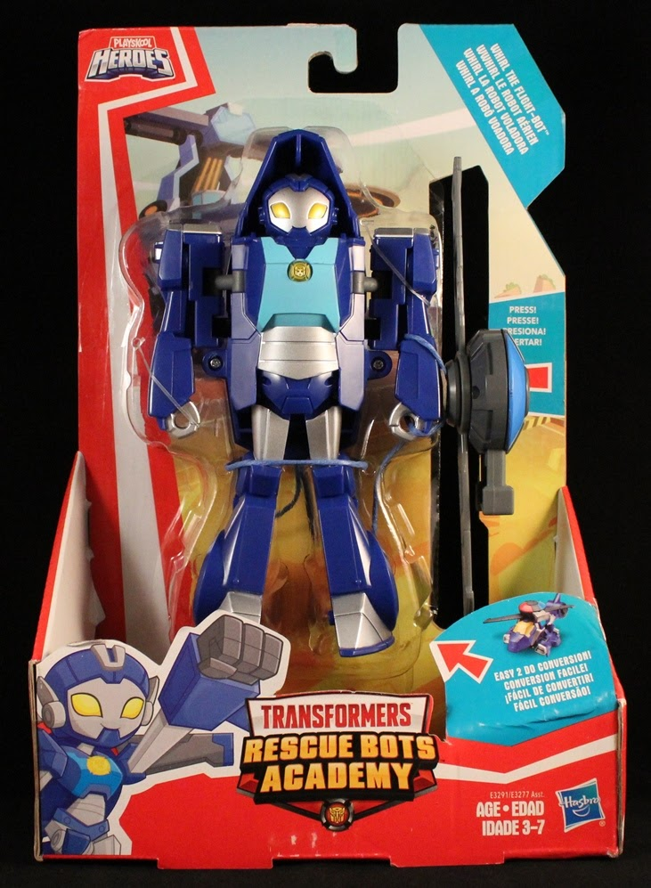 She's Fantastic: Rescue Bots - WHIRL!