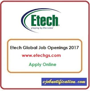 Etech Global hiring Freshers Front Desk Executive jobs in Vadodara Apply Online