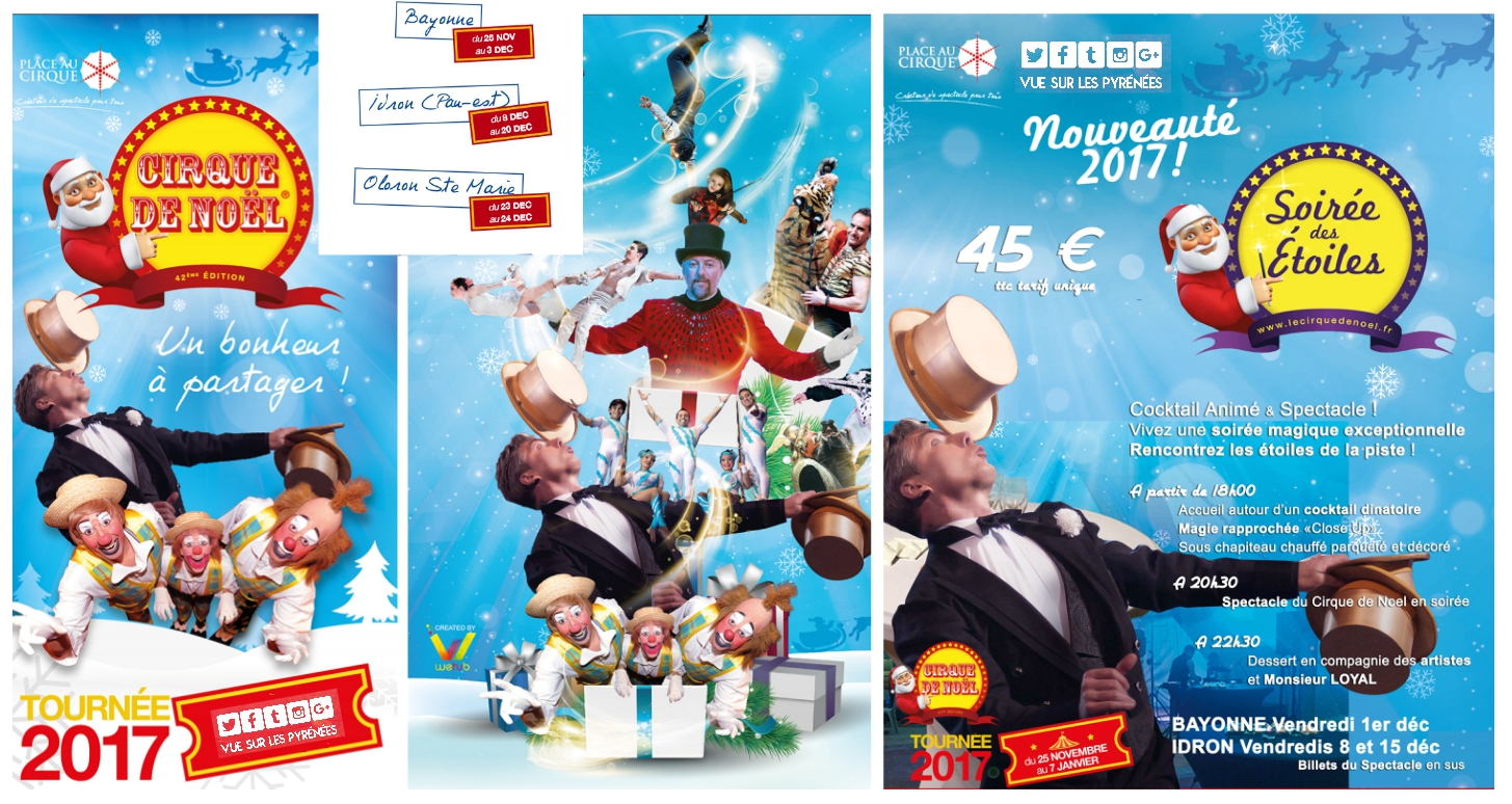 cirque de noel 2018 a bayonne CIRQUE DE NOEL Pays Basque et Béarn 2017   vue sur les Pyrénées cirque de noel 2018 a bayonne