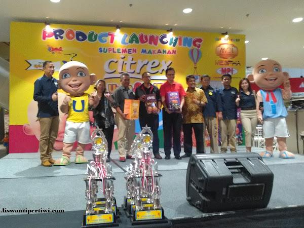Citrex Upin Ipin Sahabat Baru Anak Indonesia
