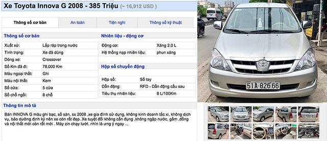 Bạn có thể nào tin xe Toyota Innova có giá 350 triệu ảnh 4