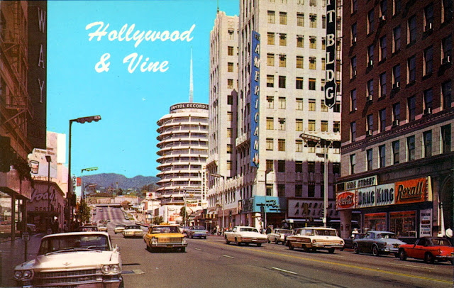 Wonderful Color Photos Of Hollywood California In The