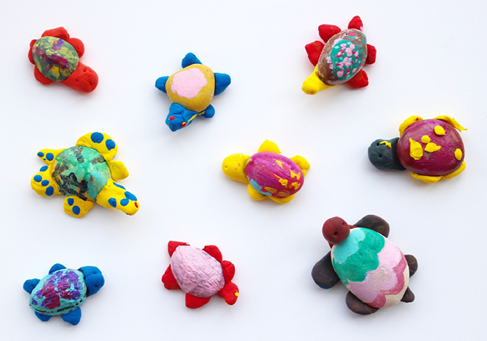 Jumping Clay: tortugas