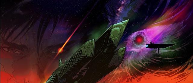"Primera imagen coloreada de ""Vampire Hunter D: Message form Mars"""