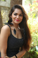 Aswini in lovely Deep Neck Sleeveless Black Dress Spicy Pics ~  Exclusive 08.JPG