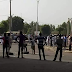 POLICE AVERT BLOODY CLASH BETWEEN KANO ROAD TRAFFIC AGENCY AND ILLEGAL MOTOR PARK OPERATORS (PHOTO)