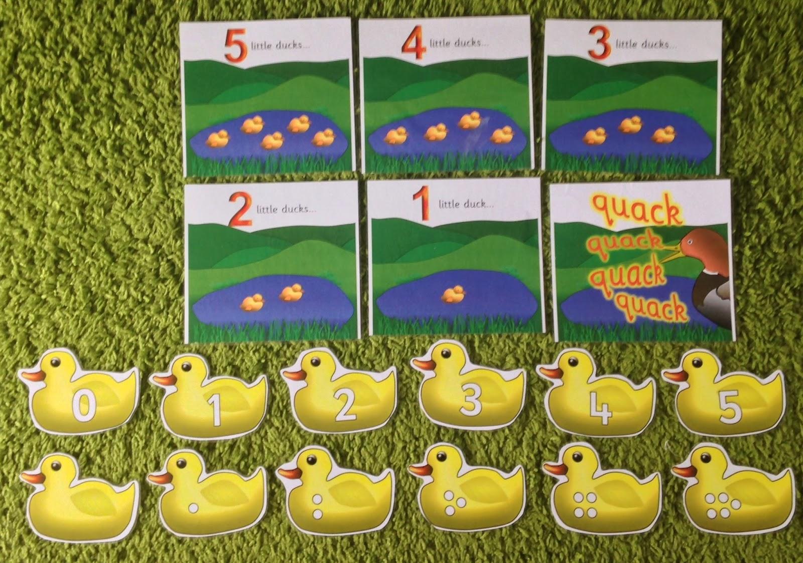 Early Language Skills Through Play 5 Little Ducks