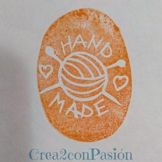 Sellos-carvados-goma-Handmade-estampado-ovillo-inicios-Crea2conPasión