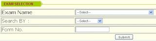 CCS University Back paper exam online form 2013
