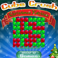 Here is the #Christmas version to #GregorHaag's #CubeCrush! #ChristmasGames #MatchingGames