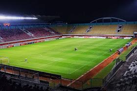 Penutupan Tribun Selatan Stadion Maguwoharjo