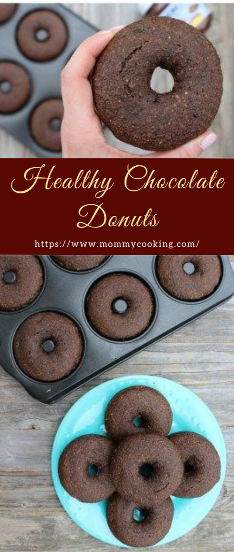 Healthy Chocolate Donuts #desserts #cakerecipe #chocolate