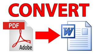 تحميل برنامج تحويل (PDF) بي دي اف الى وورد عربي مجاني