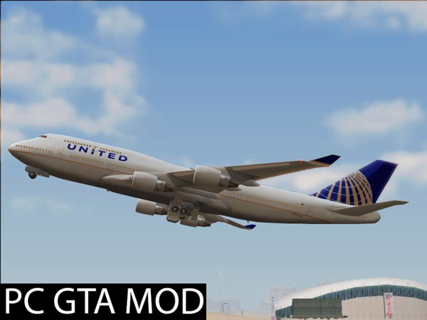 Free Download Boeing 747-400 *Updated*  Mod for GTA San Andreas.