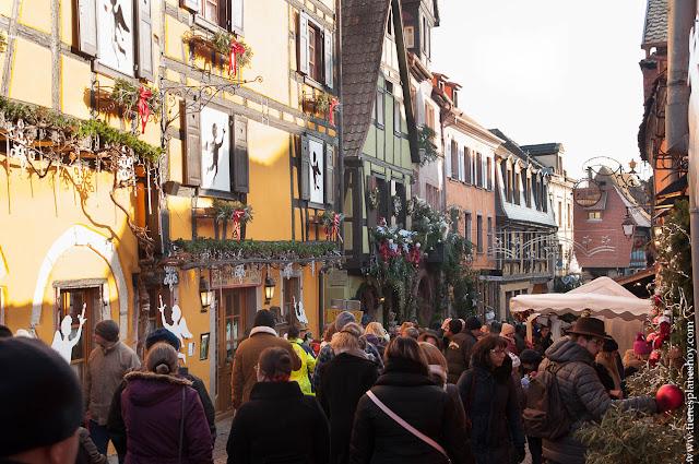 RIquewirh mercado navidad Alsacia
