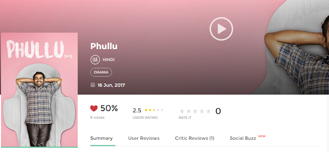 Phullu (2017) Hindi Movie Watch Online Free Download AVI