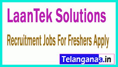 LaanTek Solutions Recruitment Jobs For Freshers Apply