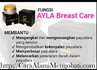 Cara alami mengencangkan payudara kendor turun~Ayla Breast Care