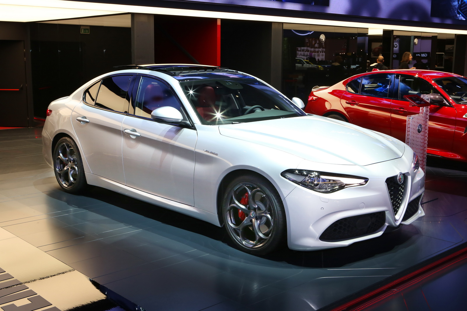 alfa romeo s new 276hp giulia veloce looks like the pick of the range w video carscoops. Black Bedroom Furniture Sets. Home Design Ideas