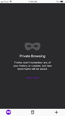 Enable Private Browser in Firefox Mobile