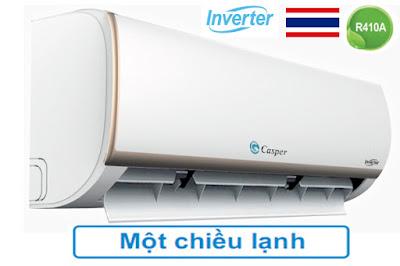Điều hòa Casper 9000BTU inverter Cửa gió cỡ lớn