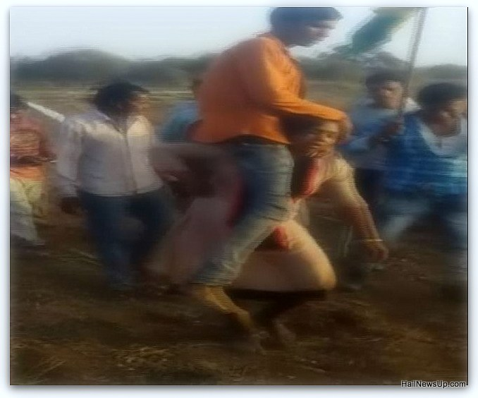 Embarrassing incident, such punishment given to women on marriage in the second caste