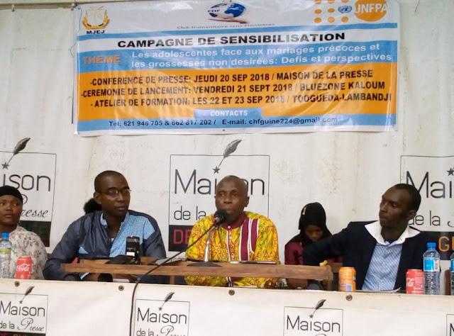 Guinée : 25 jeunes filles seront formées sur les conséquences liées aux mariages précoces et les grossesses non désirées par une ONG