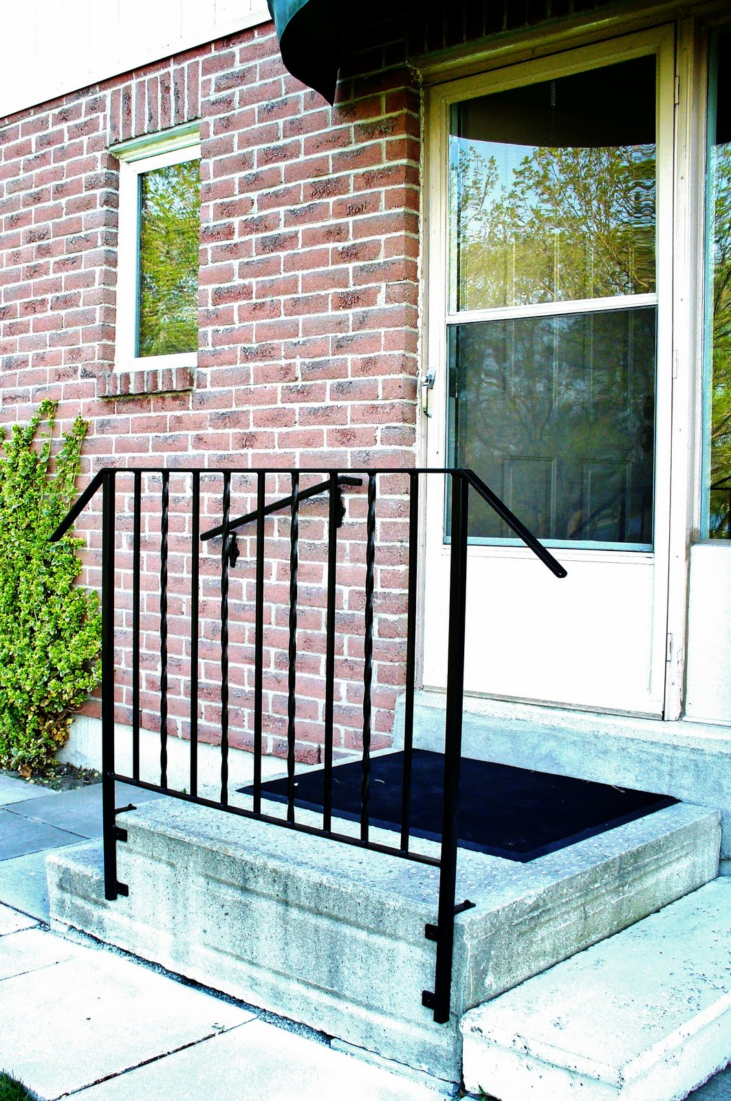 Metal Porch Post