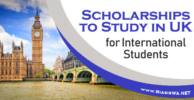 scholarship to study in uk