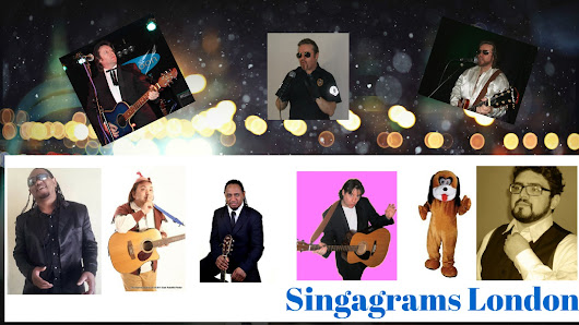 Singagrams London - Professional tribute acts for singing telegram surprise