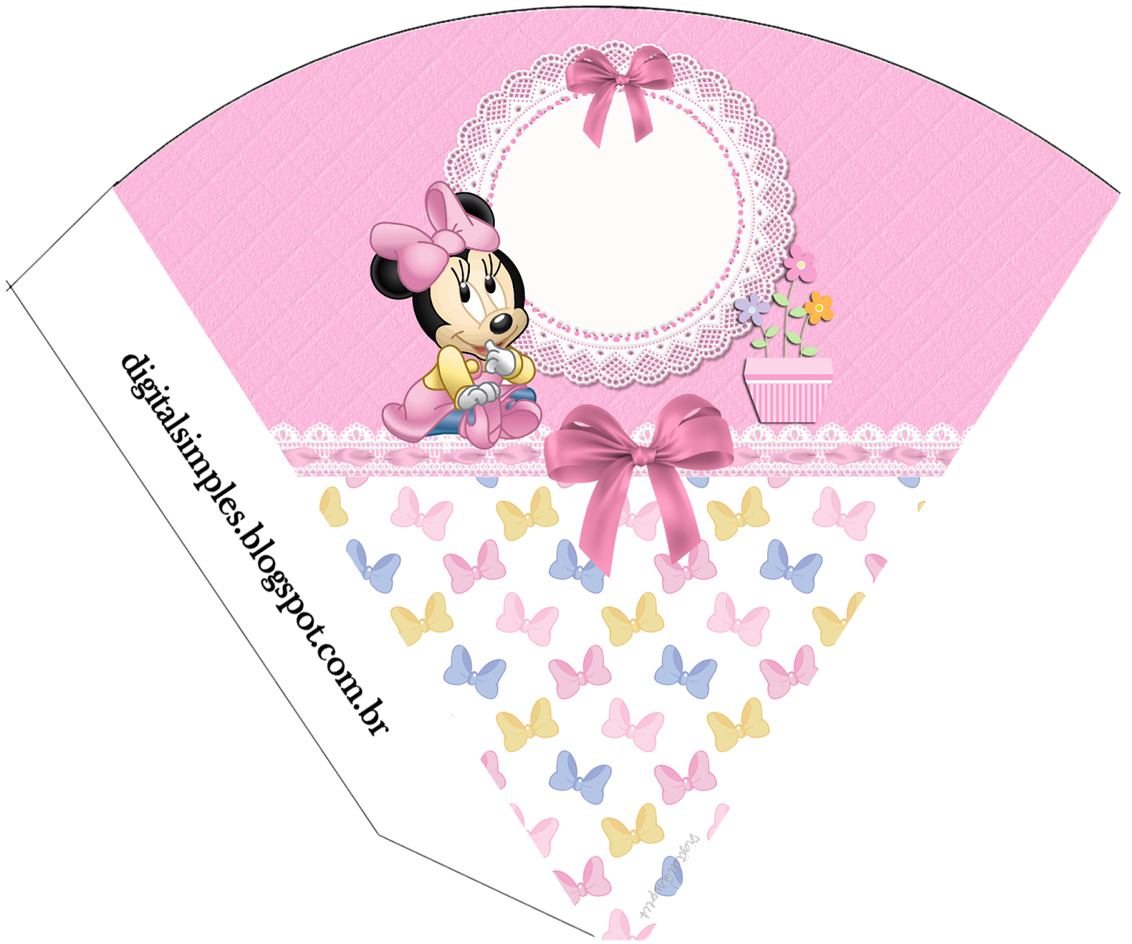 Lovely Minnie Baby Free Party Printables Oh My Baby