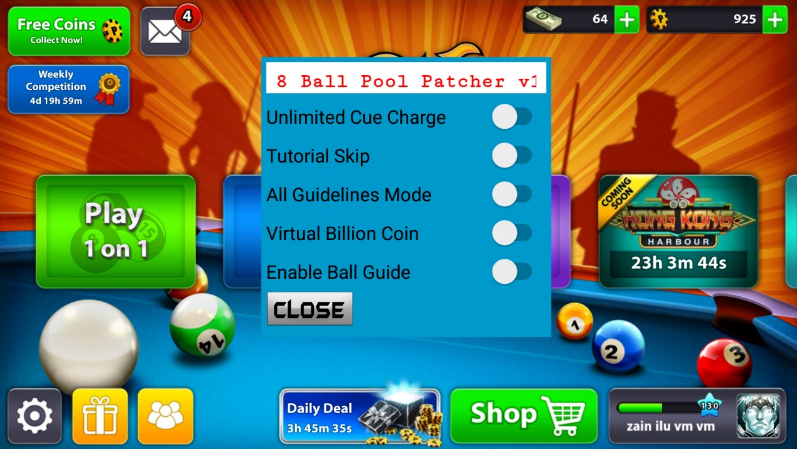 8 ball coin hack root - Dft coins twitter username and password