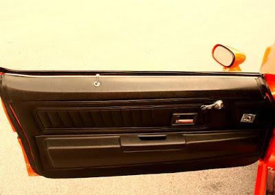 1973 Chevrolet Camaro Z28 2-Door Coupe Door Interior
