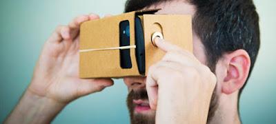 Keunikan Kacamata Kardus 3 Dimensi dari Google