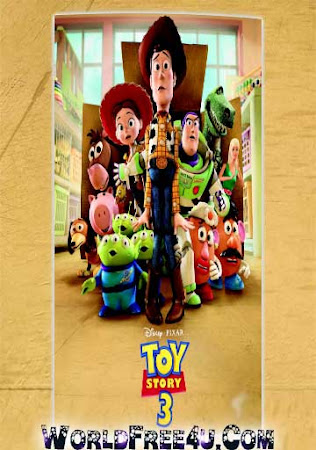 Poster Of Toy Story 3 2010 In Hindi Bluray 720P Free Download