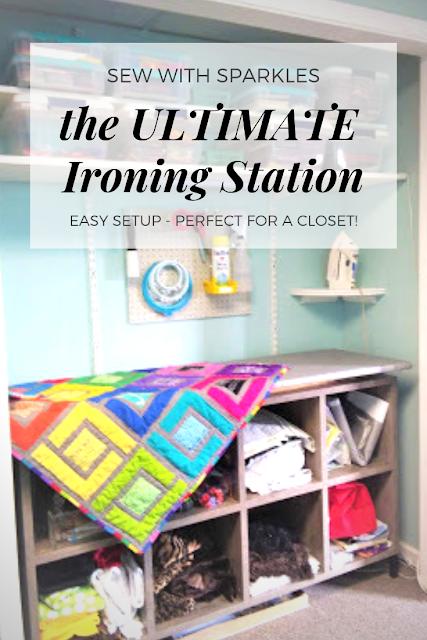 #sewing #ironing #sewingspace #sewingroom #organization #craft #diy