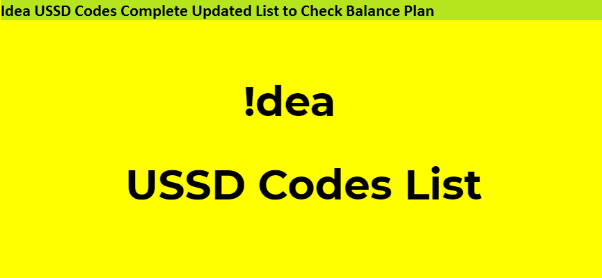idea self recharge ussd code Archives - Updatemyphone