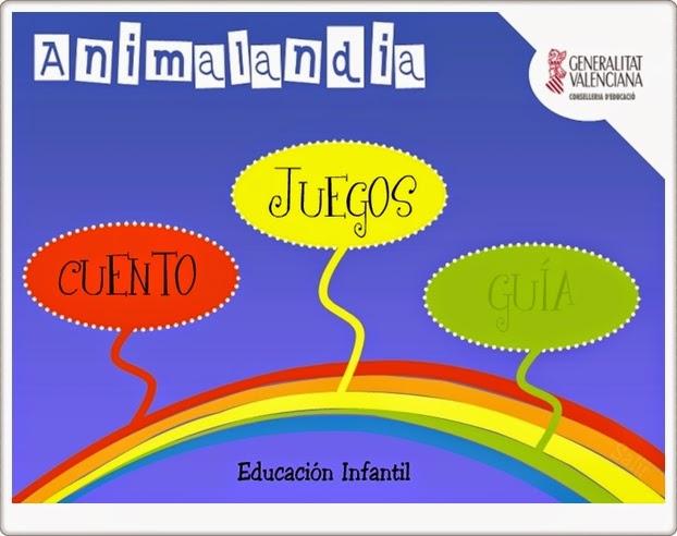 """""""Animalandia"""" (Juegos multidisciplinares de Educación Infantil)"""