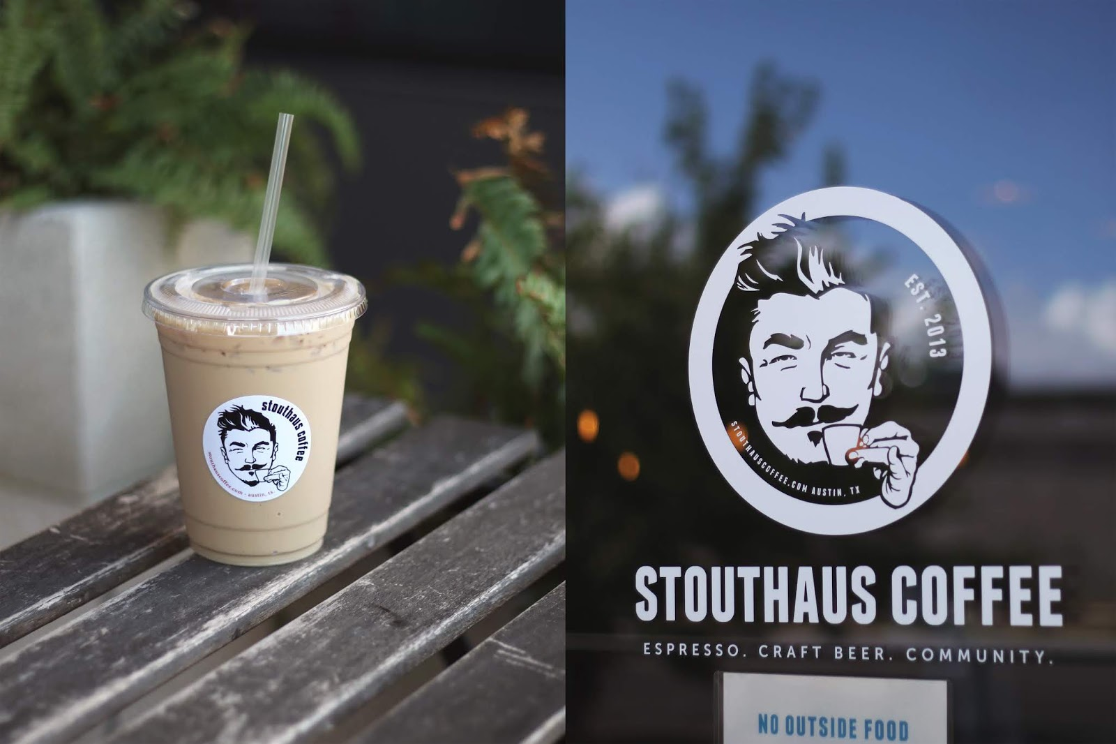 Stouthaus Coffee Austin, Iced Coffee, Cozy Coffee Shop, Coffee Shops Vibe