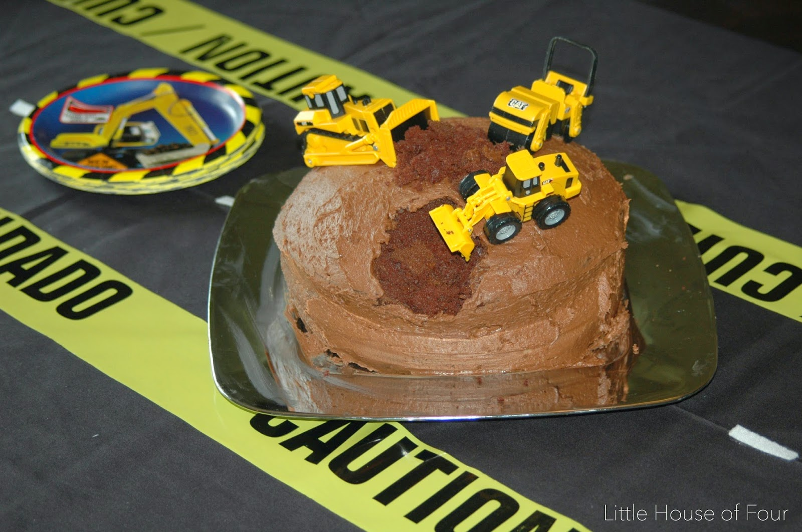 Construction party birthday ckae