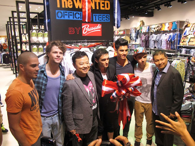 UK Boyband THE WANTED launches UNIVERSAL MUSIC APPAREL PARTNERSHIP WITH F.O.S!