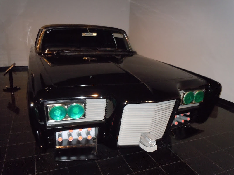 Green Hornet 60s Imperial Black Beauty car