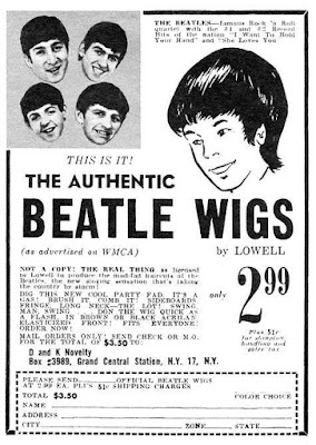 Authentic Beatle Wigs