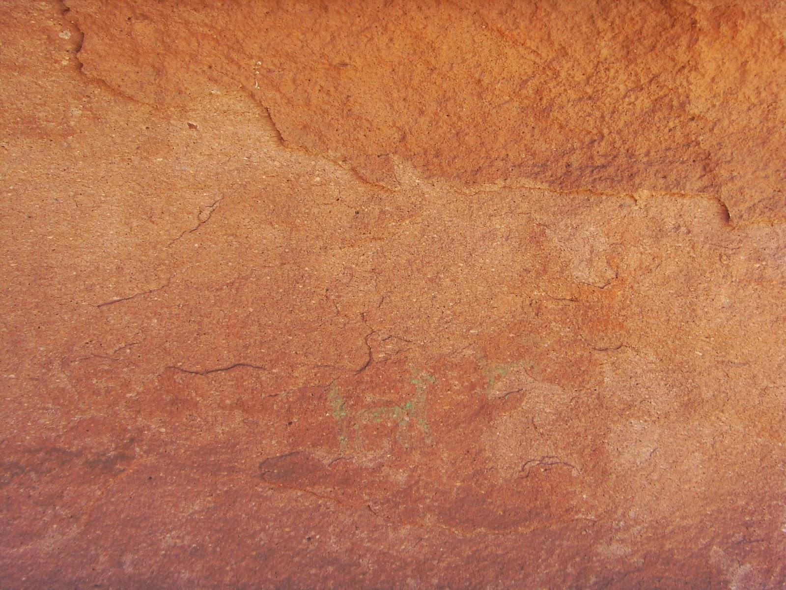 Eco antropolog a pinturas rupestres del sitio tambillo for Pintura beige arena