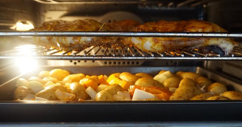 Ein Blick in den Ofen