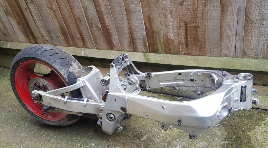 Idea to Redesign Motorcycle Alloy Wishbone Frame into Base for ...